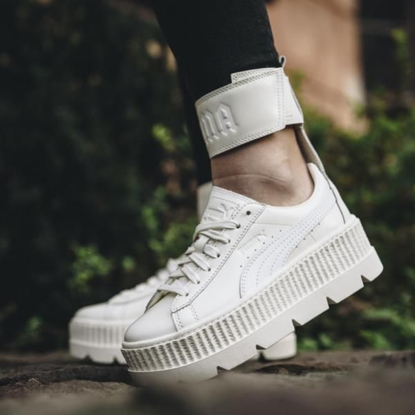 brand new ea786 8d879 Buty damskie sneakersy Puma x Fenty Rihanna Ankle Strap Sneaker Vanilla Ice  366264 02 - KREMOWY - Ceny i opinie - Ceneo.pl
