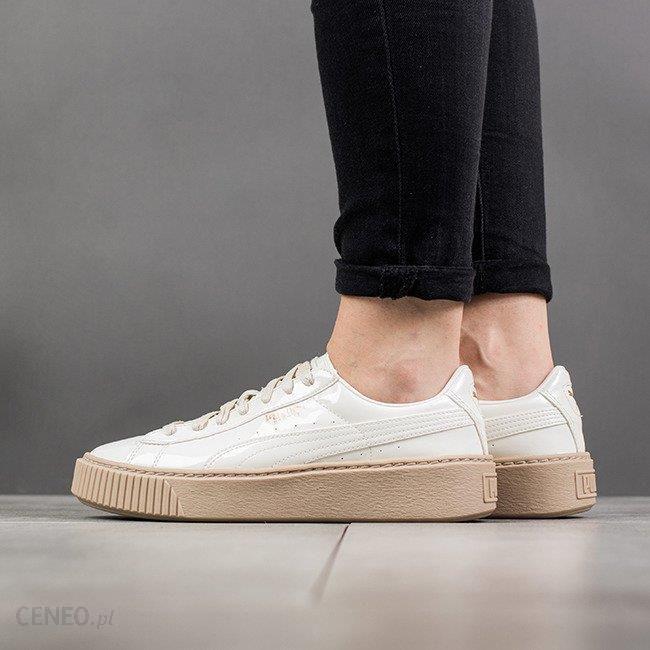 buy popular da1c9 90ed0 Buty damskie sneakersy Puma Basket Platform Patent Wns 363314 05 - KREMOWY  - Ceny i opinie - Ceneo.pl