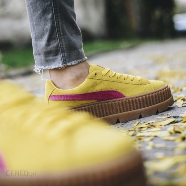 puma basket żółte