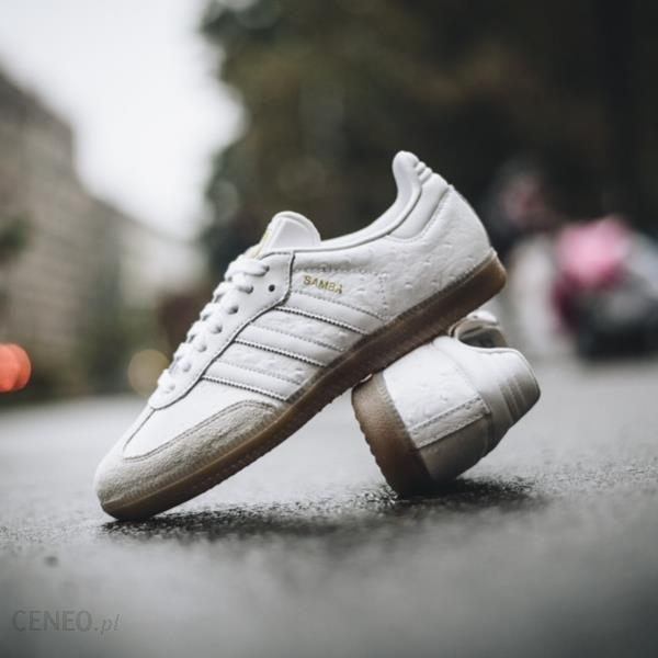 super popular 4f418 7486f Buty damskie sneakersy adidas Originals Samba BZ0619 - BIAŁY - zdjęcie 1