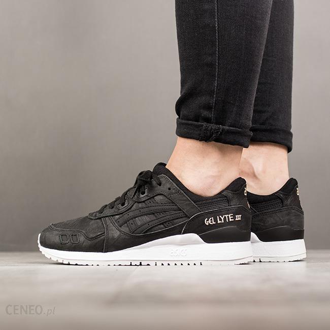 Buty damskie sneakersy Asics Gel Lyte III HL7D5 9090 czarnyszary || CZARNY