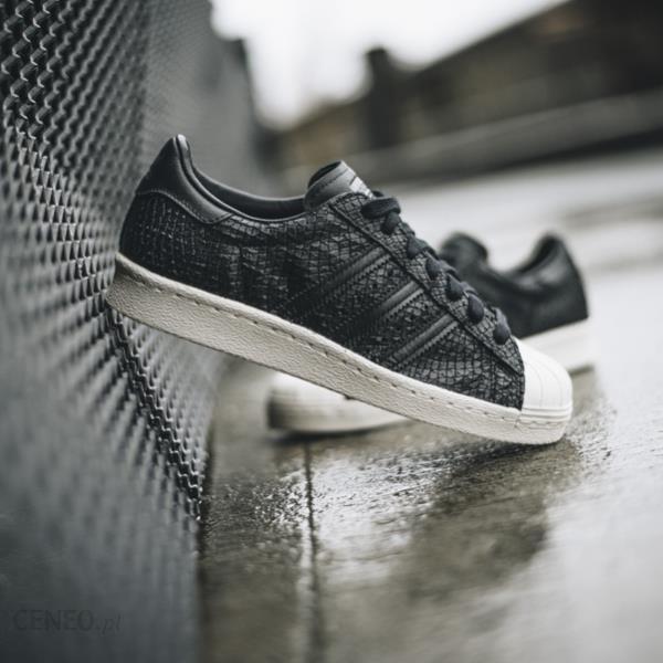 buty damskie sneakersy adidas originals superstar czarne