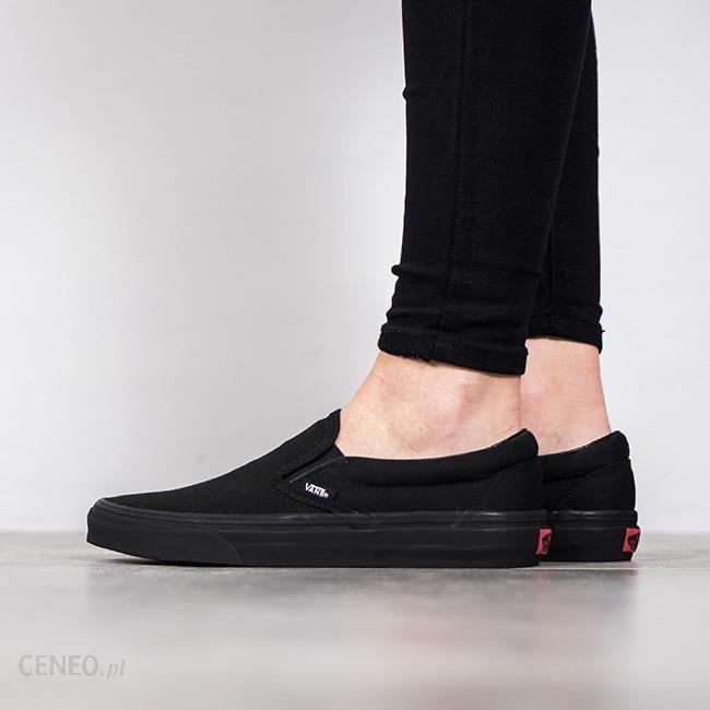 Damskie buty VANS czarne trampki SLIP ON sportowe