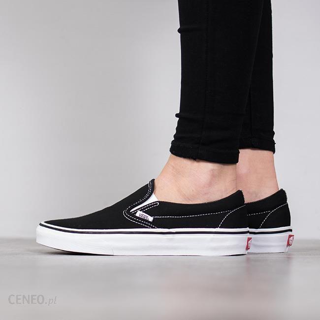 Buty damskie sneakersy Vans Classic Slip On EYEBLK czarnyszary