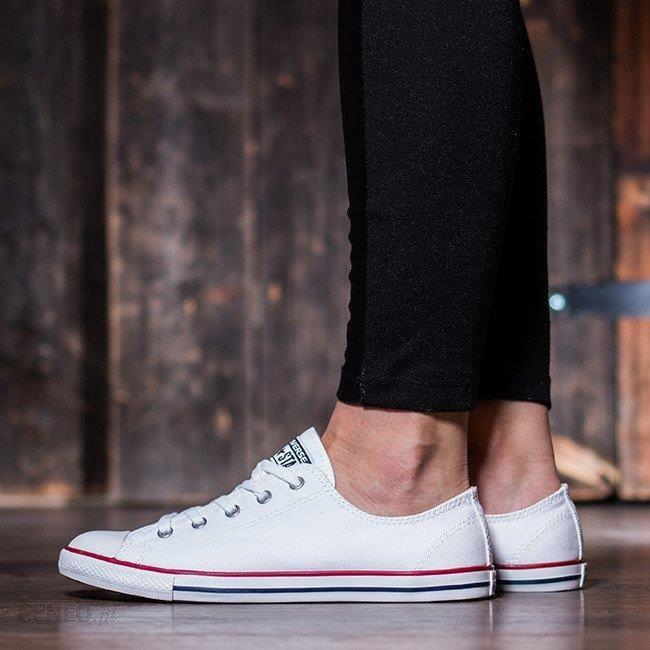 Buty damskie sneakersy Converse Chuck Taylor All Star Dainty OX 537204C BIAŁY