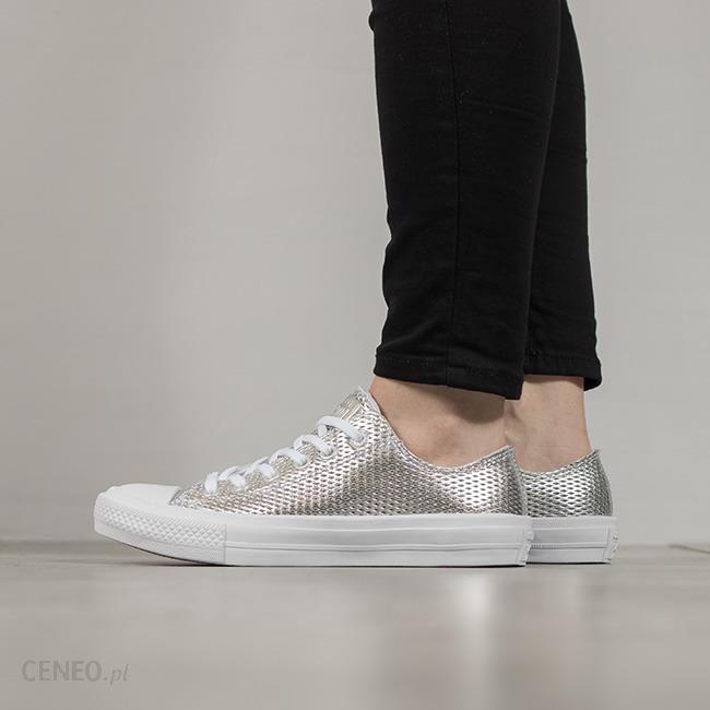 Buty damskie sneakersy Converse Chuck Taylor All Star II 555800C GRAFITOWY || SREBRNY