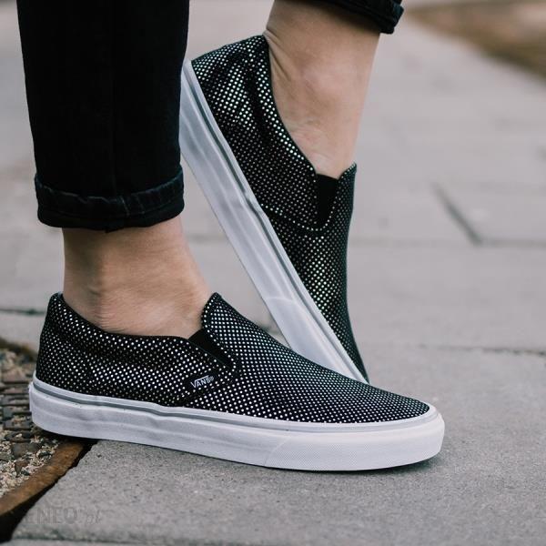 Buty damskie sneakersy Vans Classic Slip On A38F7MU6 czarnyszary Ceny i opinie Ceneo.pl
