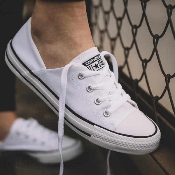 Buty damskie sneakersy Converse Chuck Taylor All Star Coral OX 555901C BIAŁY Ceny i opinie Ceneo.pl
