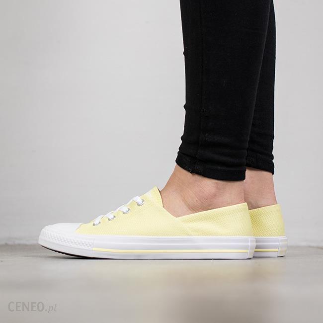 135061d9e7f8d Buty damskie sneakersy Converse Chuck Taylor All Star Coral 555896C - ŻÓŁTY/BIAŁY  - zdjęcie