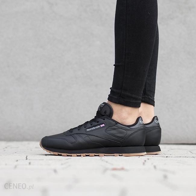 Buty damskie sneakersy Reebok Classic Leather 49804 czarnyszary