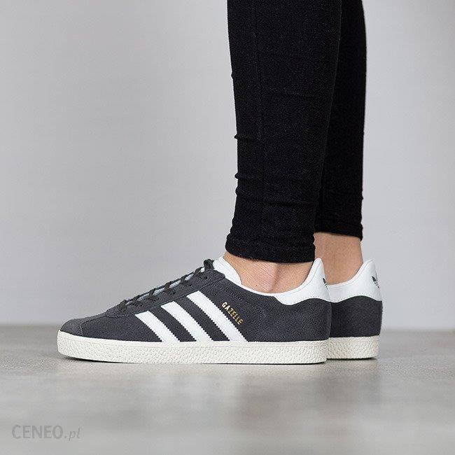 Buty damskie sneakersy adidas Originals Gazelle BB2503 GRAFITOWY || szaryniebieski || SZARY
