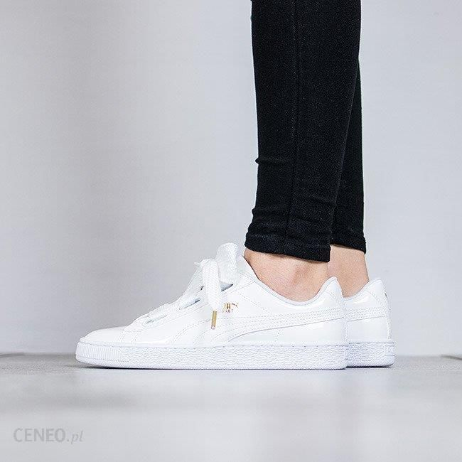 puma basket heart patent athletic shoe