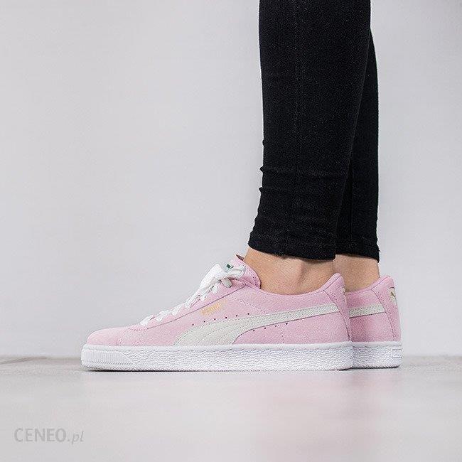 puma basket różowe