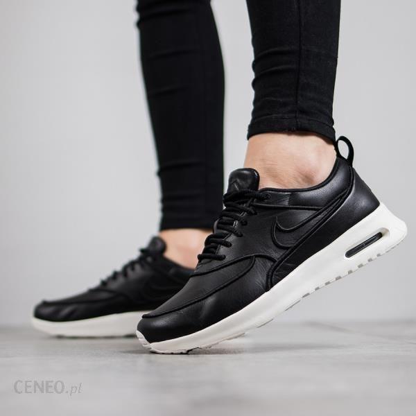 buty sneakers Nike Wmns Air Max Thea Premium 616723 011, damskie, Czarne