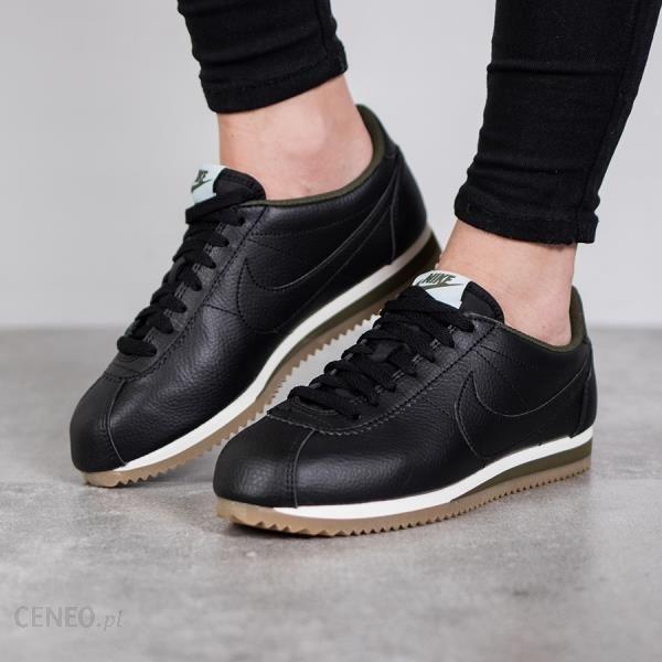 buty nike damskie classic cortez czarne