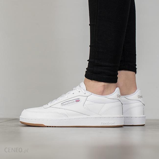 e6a6a9919 Buty damskie sneakersy Reebok Club C 85 BS7686 - BIAŁY - Ceny i ...