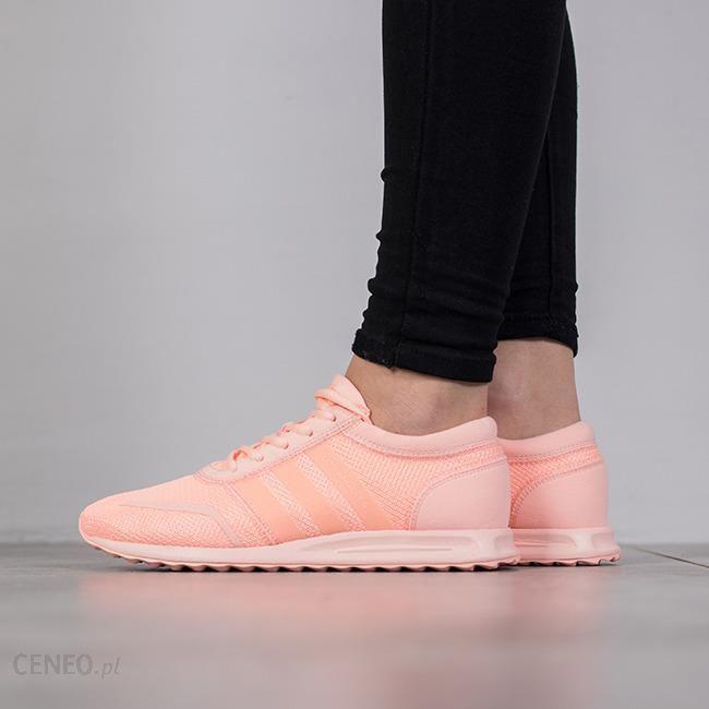 Buty damskie sneakersy adidas Los Angeles J BA7080 POMARA?CZOWY