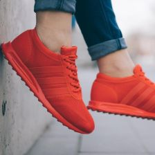 Buty damskie sneakersy adidas Originals Los Angeles BA7079 CZERWONY Ceny i opinie Ceneo.pl
