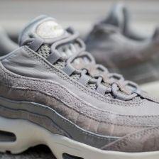 Buty damskie sneakersy Nike Air Max 95 Premium 807443 012 szaryniebieski Ceny i opinie Ceneo.pl
