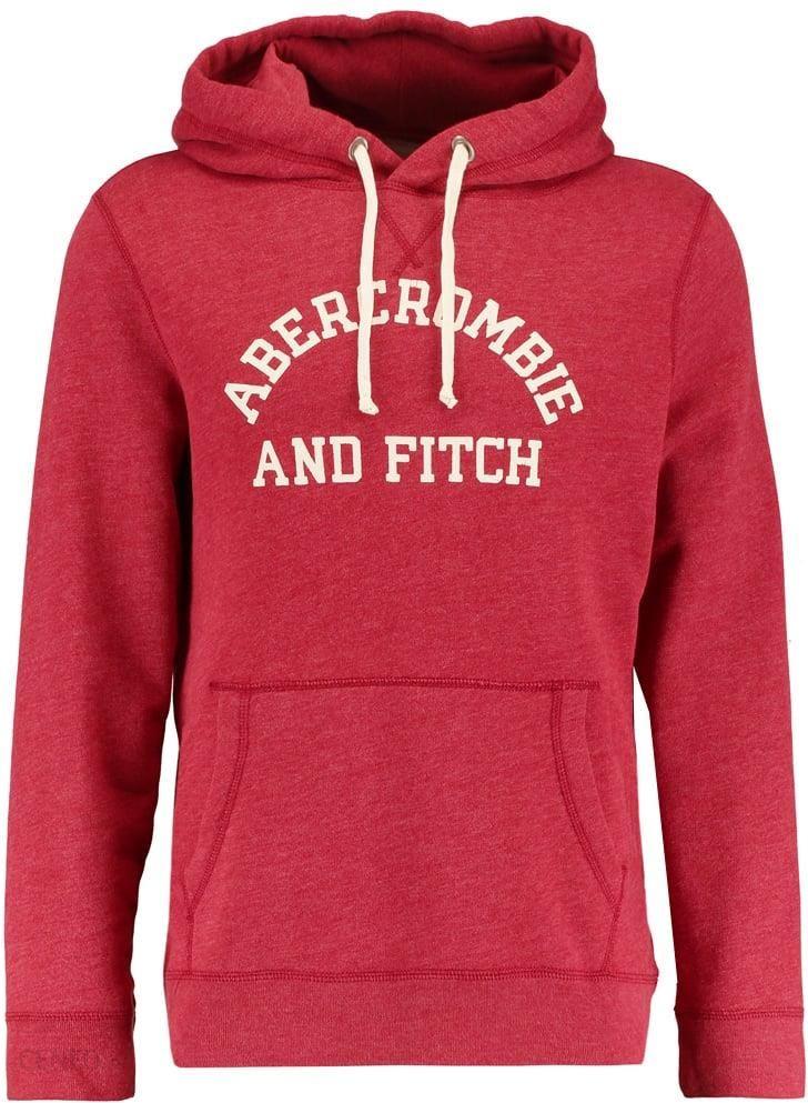 abercrombie & fitch bluza czerwona