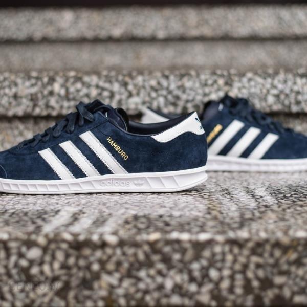 Adidas Hamburg S74838 Buty Vintage Sneakers 44 23
