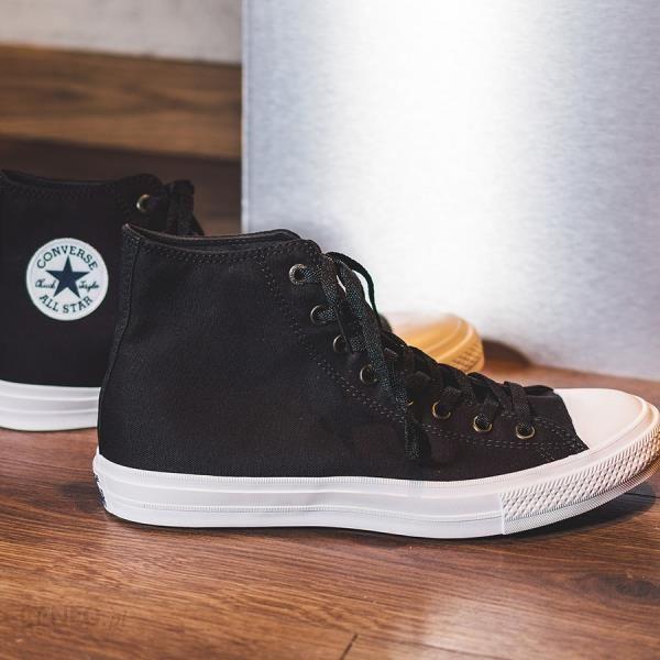 320f8c2a7d00a Buty męskie sneakersy Converse Chuck Taylor All Star II Hi 150143C - czarny/szary  -
