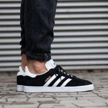 10660d3cd06743 Buty męskie sneakersy adidas Originals Gazelle BB5476 - czarny/szary