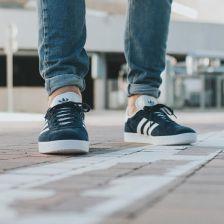 Buty męskie sneakersy adidas Originals Gazelle BB5478 GRANATOWY Ceny i opinie Ceneo.pl