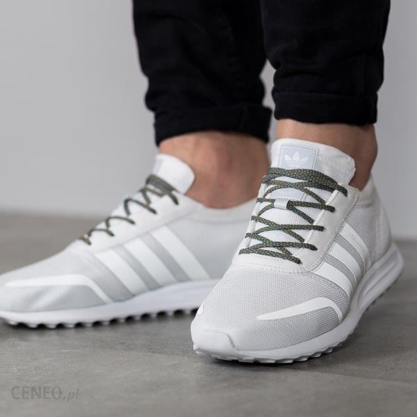 adidas Originals Czarne And Białe Los Angeles Sneakersy