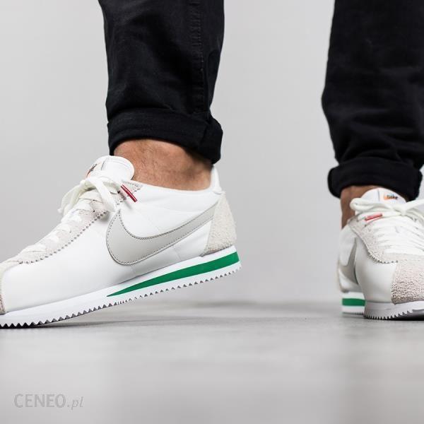 Buty męskie sneakersy Nike Classic Cortez Nylon Premium 876873 100 BIAŁY
