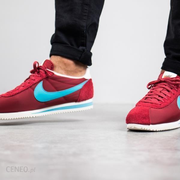 Nike Sportswear Classic Cortez Nylon Czerwony Obuwie męskie