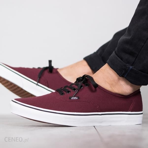 vans authentic bordowe ceneo