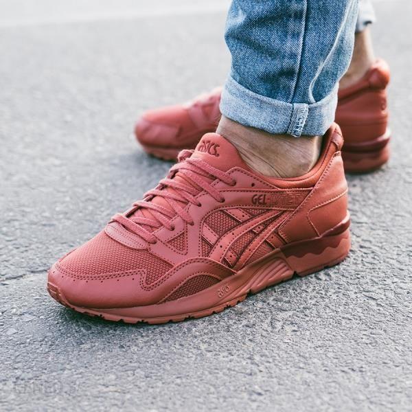 buty asics czerwone