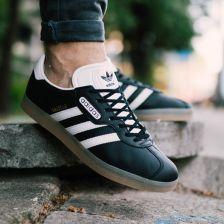 Buty męskie sneakersy adidas Originals Gazelle Super BB5244 czarnyszary , , CZARNY Ceny i opinie Ceneo.pl