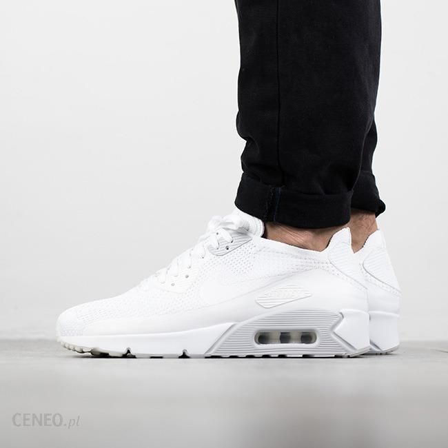 Damskie Nike Air Max 90 Ultra 2.0 Flyknit White White