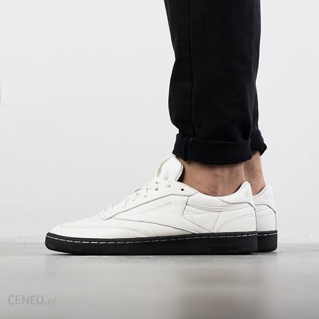 Buty męskie sneakersy Reebok Club C 85 AR0458 | CZARNY | kup