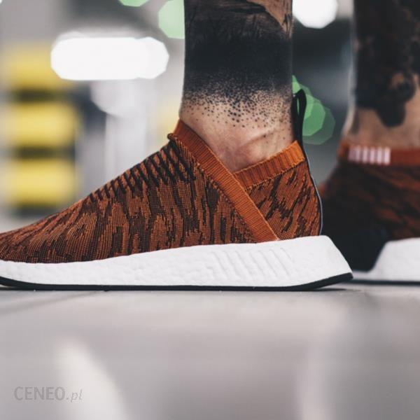 Buty męskie sneakersy adidas Originals NMD_CS2 Primeknit Red Glitch BY9406 POMARAŃCZOWY Ceny i opinie Ceneo.pl