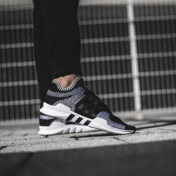 online store d67b9 1a36d Buty męskie sneakersy adidas Originals Equipment Support Adv Primeknit  BY9390 - czarnyszary