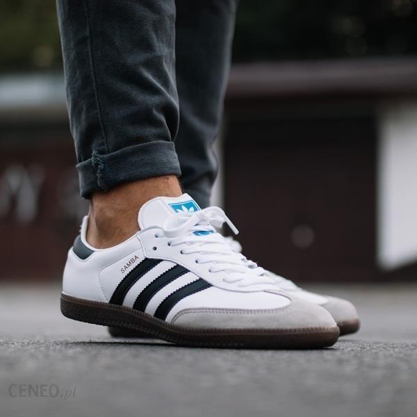 0907e90743980 Buty męskie sneakersy adidas Originals Samba Og BZ0057 - BIAŁY - zdjęcie 1