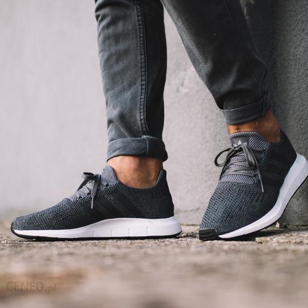 Adidas Buty męskie Originals Swift Run szare r. 42 23 (CG4116)