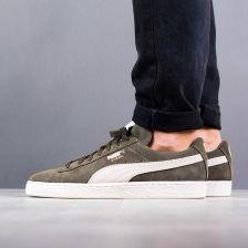 Buty męskie sneakersy Puma Suede Classic + 363242 27 ZIELONY Ceny i opinie Ceneo.pl