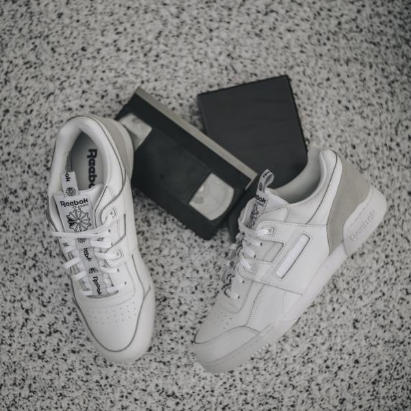 Buty męskie sneakersy Reebok Workout Plus Iconic Taping Bs6214 BIAŁY Ceny i opinie Ceneo.pl