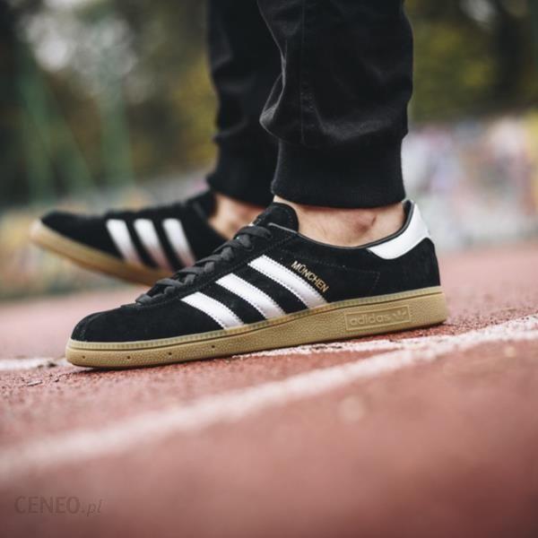 Buty męskie sneakersy adidas Originals Munchen BY9790 czarnyszary Ceny i opinie Ceneo.pl