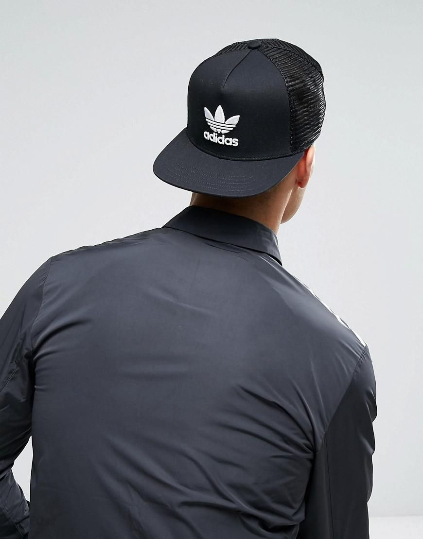 Adidas Originals Trefoil Trucker In Black BK7308 Black Ceneo.pl