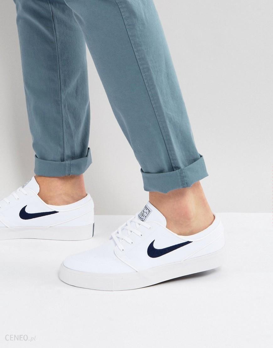 quality design c3531 3cf17 Nike SB Zoom Stefan Janoski Canvas Trainers In White 615957-141 - White -  zdjęcie