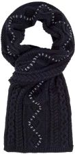 szalik BENCH - Cable Scarf Black Beauty (BK11179)