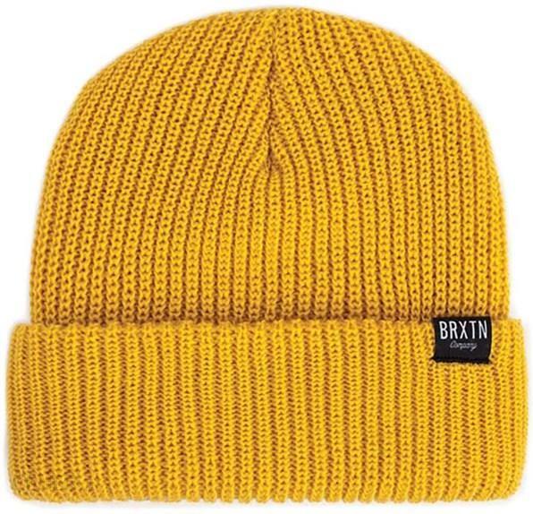 Czapka zimowa BRIXTON - Redmond Beanie Mustard (MUSTR) - Ceny i ... d87e95cf9924