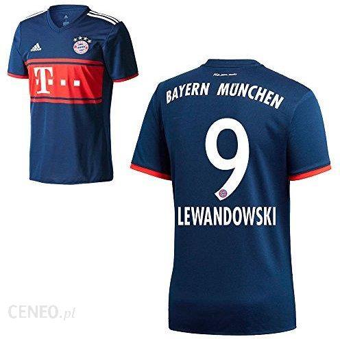 5a5fd8fa94558 Amazon Adidas FC Bayern München FCB Away koszulka 2017 2018 Mężczyźni  Dzieci z nazwą odtwarzacz granatowy (marynarski), niebieski, 152 - Ceneo.pl