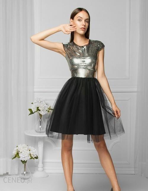 a8612ca90cf2 4dfcf9e360aa Sukienka tiulowa srebrna - Ceny i opinie - Ceneo.pl ...