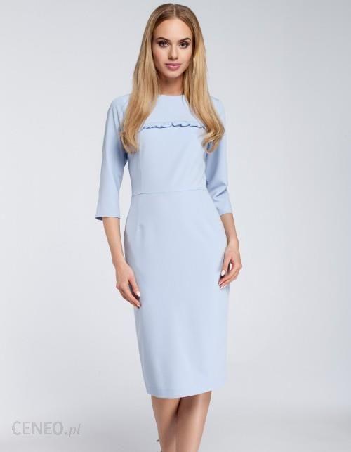 bc0268fa02 Sukienka midi z falbanką - Ceny i opinie - Ceneo.pl